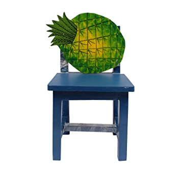 Superb Kids Wooden Chair Pineapple Amazon In Home Kitchen Creativecarmelina Interior Chair Design Creativecarmelinacom
