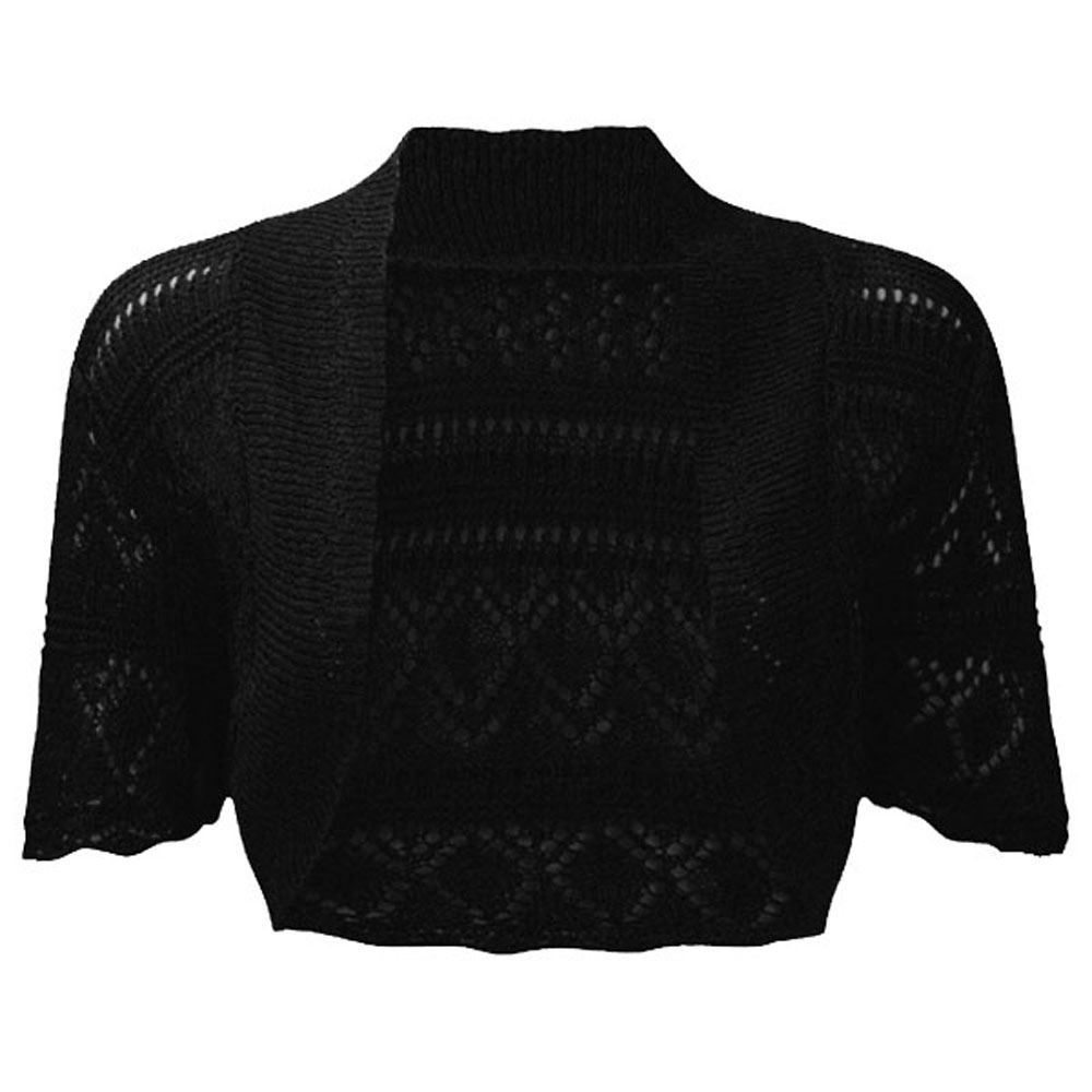 688c40f237 LOTMART Ladies Knitted Bolero Crochet Cardigan Shrug Items sold and  dispatched by LotMart go through high quality control. We can't guarantee  that the same ...