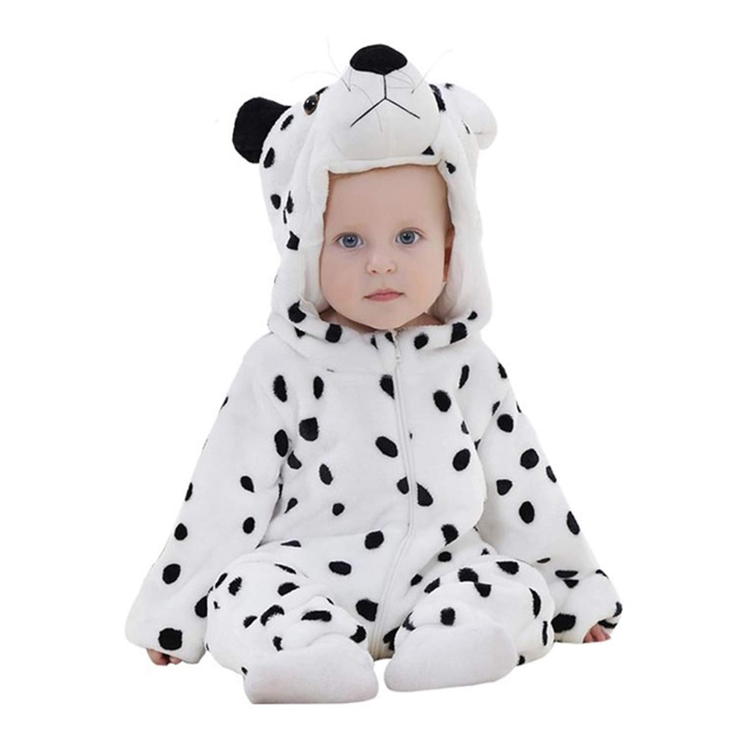 Evan Fordd Cute Infant Romper Baby Boys Girls Jumpsuit Clothing Hooded Toddler Costumes