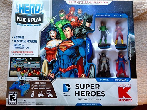 Hero-Portal-DC-Comics-Super-Heroes-Gaming-System-with-4-Action-Figures