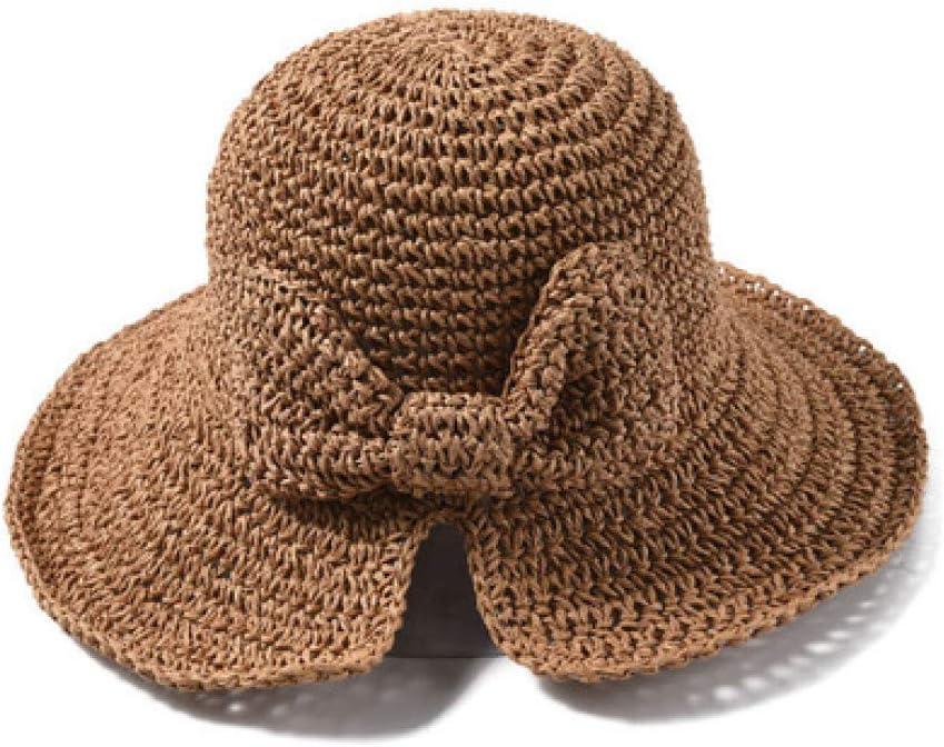 LG GL Sombrero Visera Arco Sombrero Plegable Sombrero de Paja ...