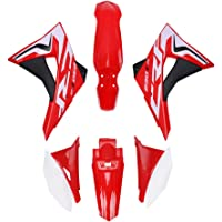 Red RainMan S Plastic Body Shell Seat Tank Petcock fit for Yamaha PW80 Black White Red Blue
