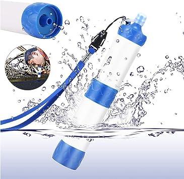 XCHUNA Filtro de Agua al Aire Libre Personal purificador de Agua ...