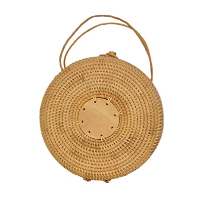 Amazon Com Amololo Beach Tote Bags Rattan Straw Handbag For Women