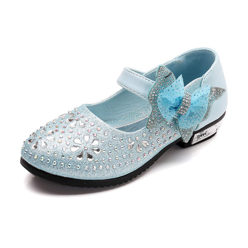 Mary Jane Bow Princess Shoes Girls Flats Cute Walking Shoes