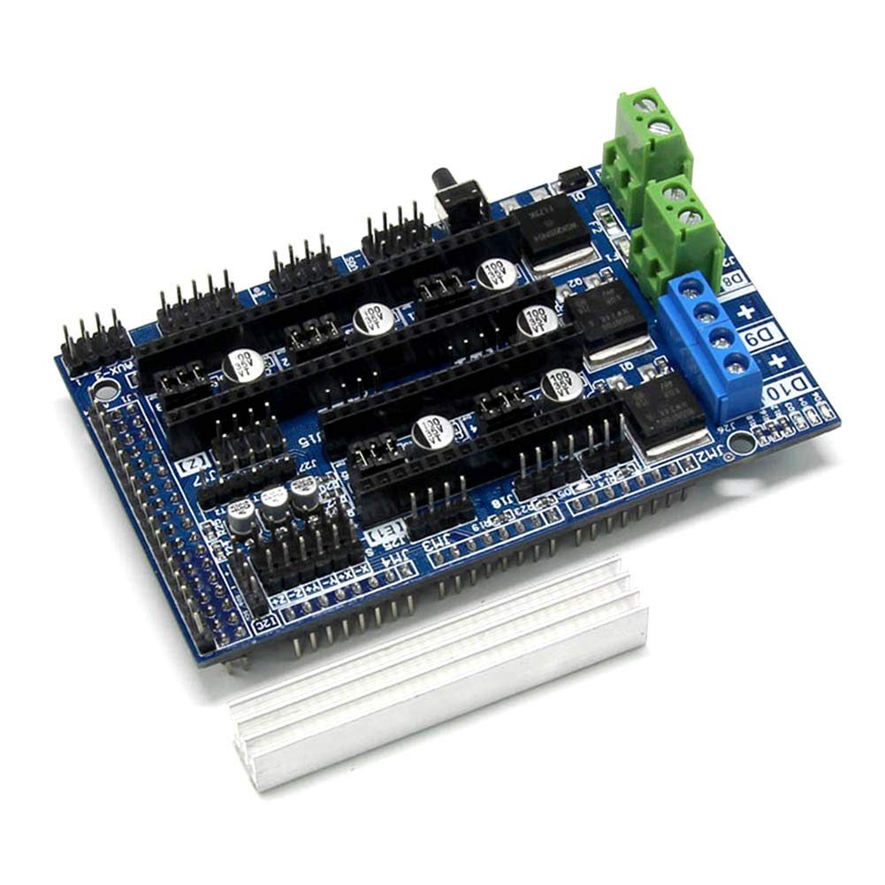 Alftek 3D Printer Accessories Ramps 1.6 4 Layer Mainboard Expansion Control Board 1cn5su2zg4av8uk2