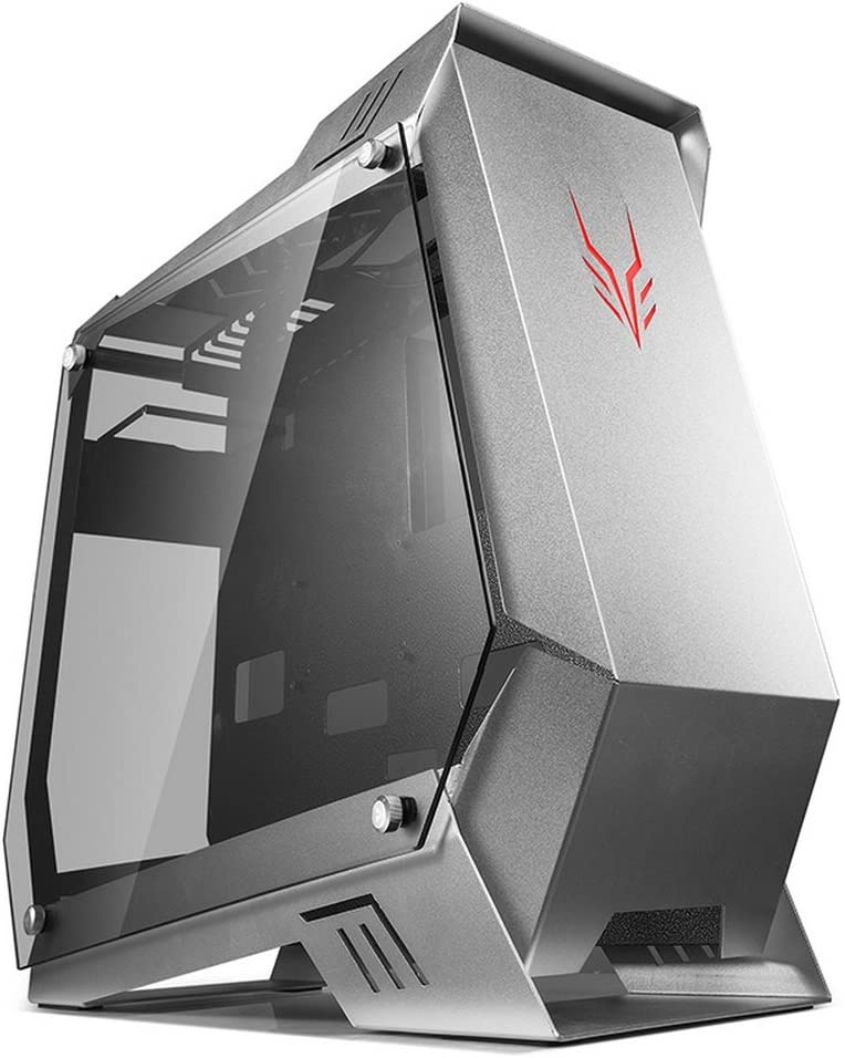GOLDEN FIELD 5300 ATX Case Full Tower PC Gaming Computer Case ATX/M-ATX/ITX Desktop Computer Shell Cases with Tempered Glasse