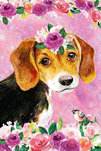 Download Journal Notebook For Dog Lovers Beagle Puppy In Flowers 3: Blank Journal To Write In, Unlined For Journaling, Writing, Planning and Doodling, For ... Carry Size. (Handy Plain Journal) (Volume 18) PDF