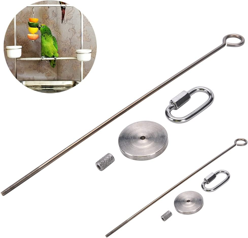 CoscosX 1 PCS Parrot Bird Rabbit Hutch Cage Meat Stick Spear Fruit Vegetable Holder Skewer Foraging Toy Animal Treating Tool