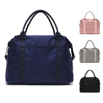 273b31b78e5b4 FEDUAN Reisetasche Handgepäck Sport-Tasche wasserfest Handtasche  Einkaufstasche 42x15x33 Damen Weekender quadratisch blau