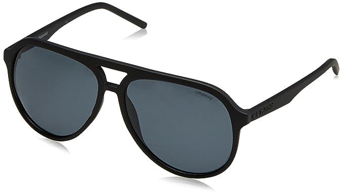 6d636a190fec Polaroid PLD2048 S 003 Matte Black PLD2048 S Aviator Sunglasses Polarised  Lens