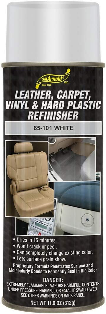 S. M. Arnold White Leather, Carpet, Vinyl & Hard Plastic Refinisher [65-101], 11. Fluid_Ounces, 11 fl. oz.