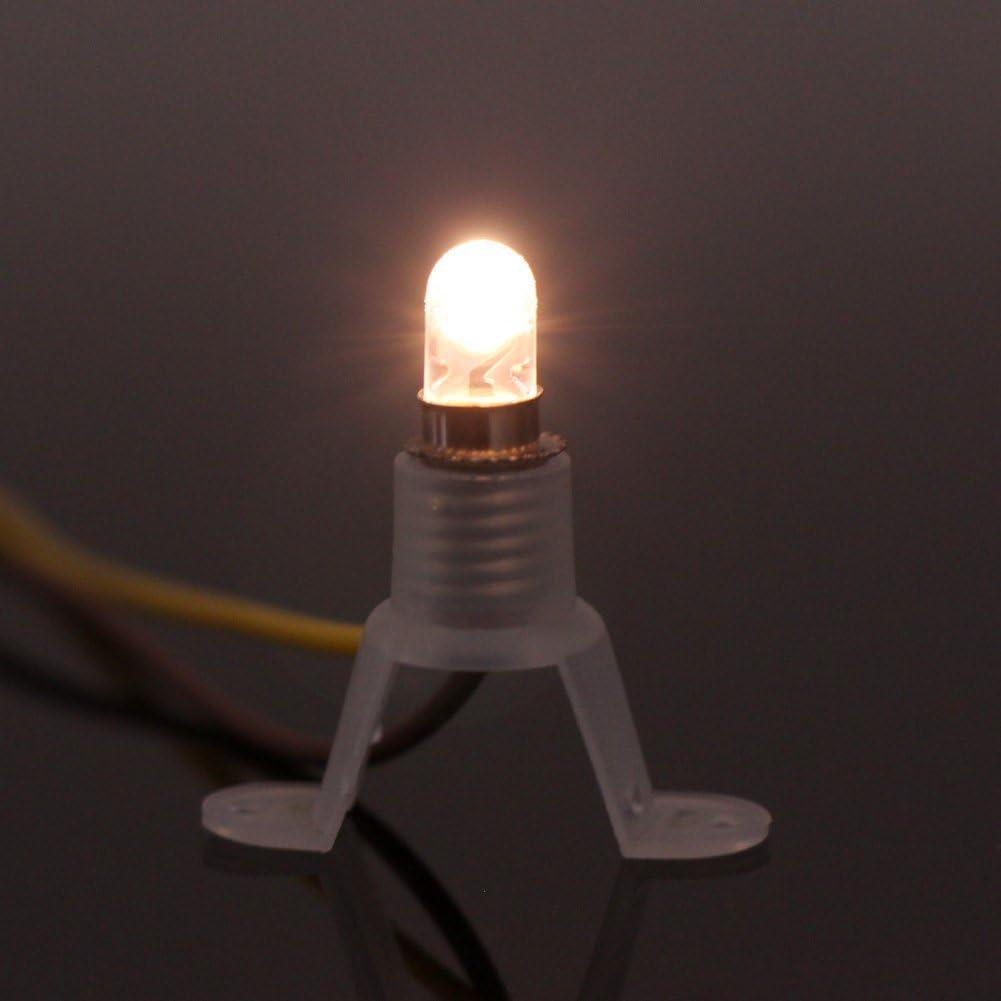 Light Bulb e5.5 3,5v FOR CRIB-Dolls House Lamps 5 Piece NEW