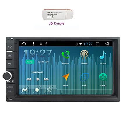 Amazon com: 3G Dongle as a Double Din Head Unit Android Car