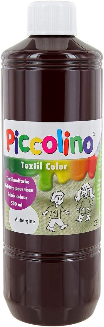 Pintura Textil Color Berenjena 500 ml – Pintura Textil picolino.