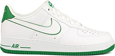 Adiccion masa Fructífero  Nike Air Force 1 Garganta, color blanco/verde, color Verde, talla 45 EU:  Amazon.es: Zapatos y complementos