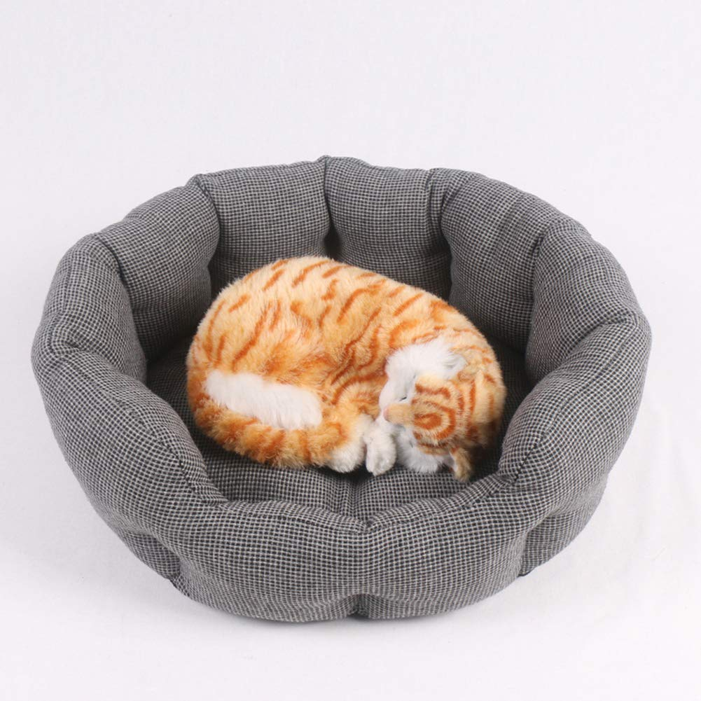 Large Pet Bed Dog Cat Nest-Warm Soft Pet Sofa Washable Removable Mat, Indoor Pet Bed for Small, Medium, Large Pets,L