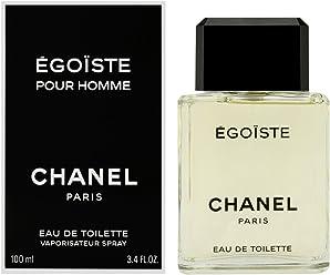 Egoiste by Chanel for Men, Eau De Toilette Spray, 3.4 Ounce