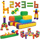 Beginner Blocks. Create your own. Expansion Kit 150 Blocks 6 Colors. Make Cubes and Objects. Great for Toddlers and Babies
