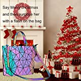 Geometric Handbag Luminous Women Tote Bag