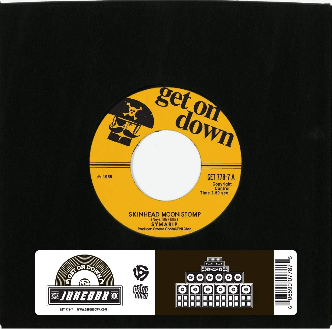 Vinilo : Symarip - Skinhead Moonstomp /  Must Catch A Train (7 Inch Single)