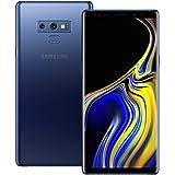 Samsung Galaxy Note 9 (SM-N960F/DS) 6GB / 128GB (Ocean Blue) 6.4-inches LTE Dual SIM (GSM ONLY, NO CDMA) Factory Unlocked - I