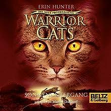 Sonnenuntergang (Warrior Cats: Die neue Prophezeiung 6) Hörbuch von Erin Hunter Gesprochen von: Marlen Diekhoff
