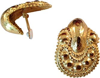 """""""Cleopatra"""" Jewelry Collection, Bold, Heavy Large Clip-on Earrings, Earrings Sets (""""Cleo Style"""")"""