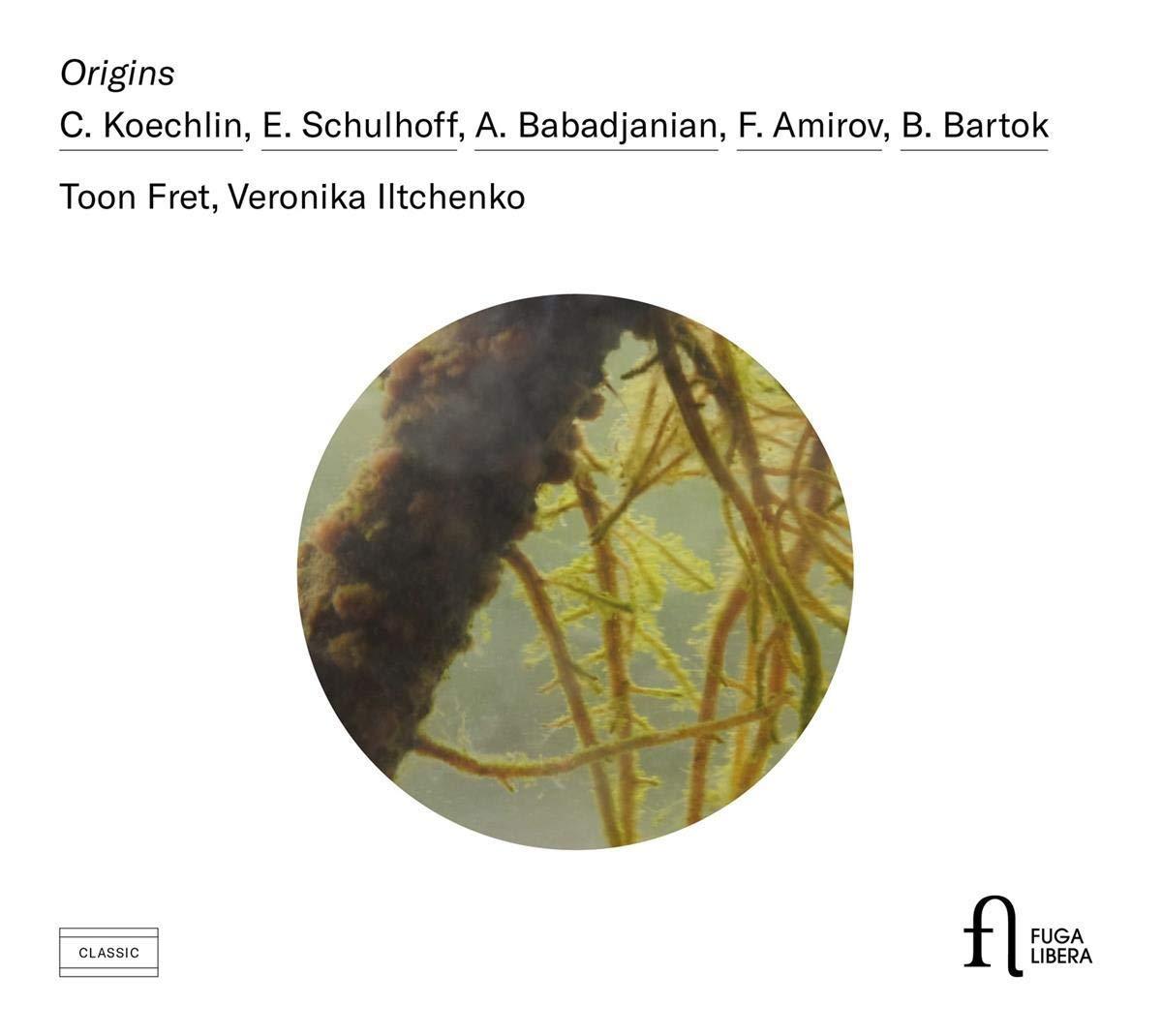 CD : TOON FRET - VERONIKA ILTCHENKO - Origins (CD)