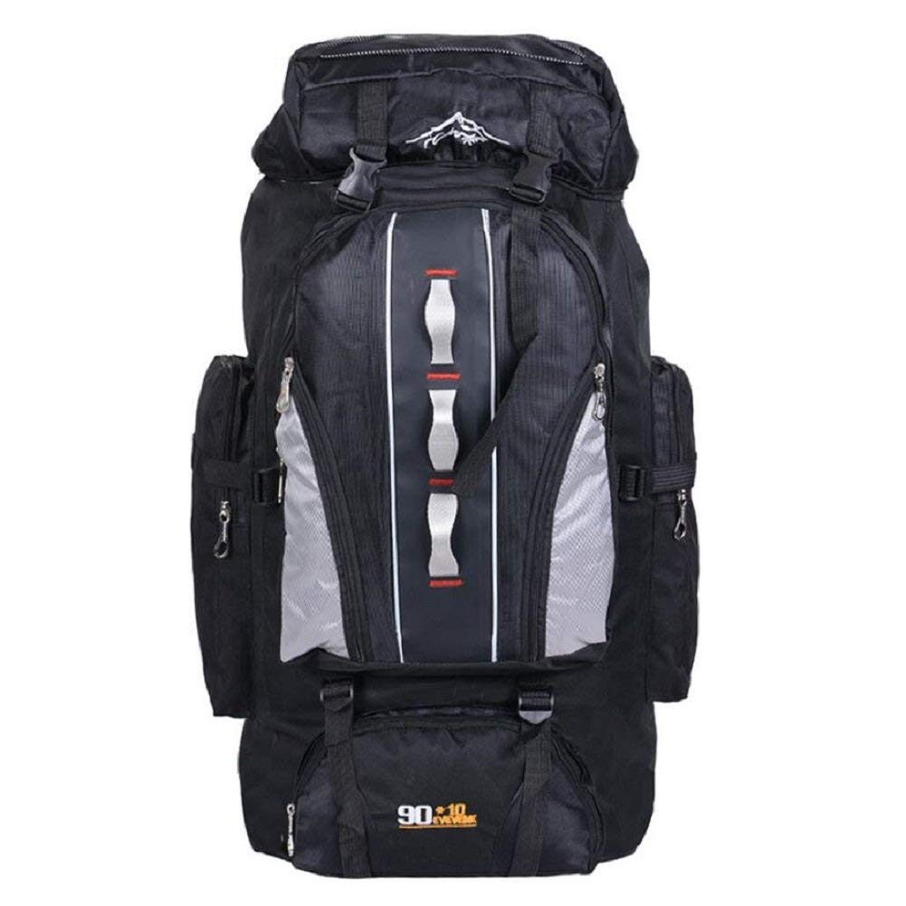 GZZ Outdoor-Rucksack Wasserdicht Nylon Outdoor-Bergsteigen-Tasche, männlich und Weiblich General, Wandern, Bergsteigen, Camping, Multifunktionale Rucksack, Verstellbare Hochwertige Rucksack