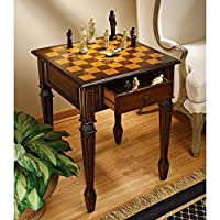Design Toscano Walpole Manor Gaming Chess Table