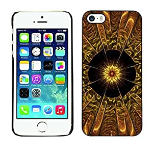Exotic-Star ( Abstract Flower ) Fundas Cover Cubre Hard Case Cover para Apple iPhone 5 / 5S