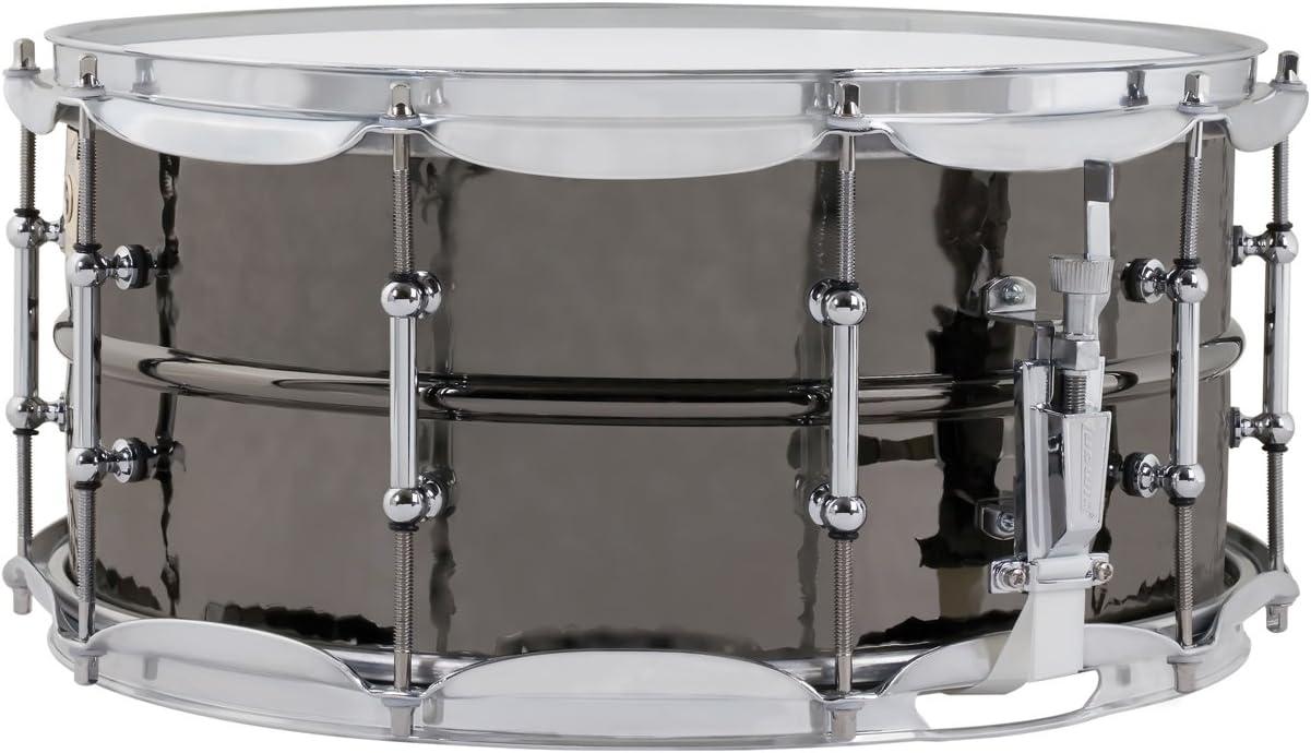 ラディック スネアドラム LB416KT 【ブラック・ビューティー】 シームレス・ブラスシェル 5×14インチ ハンマード仕上げ チューブラグ仕様