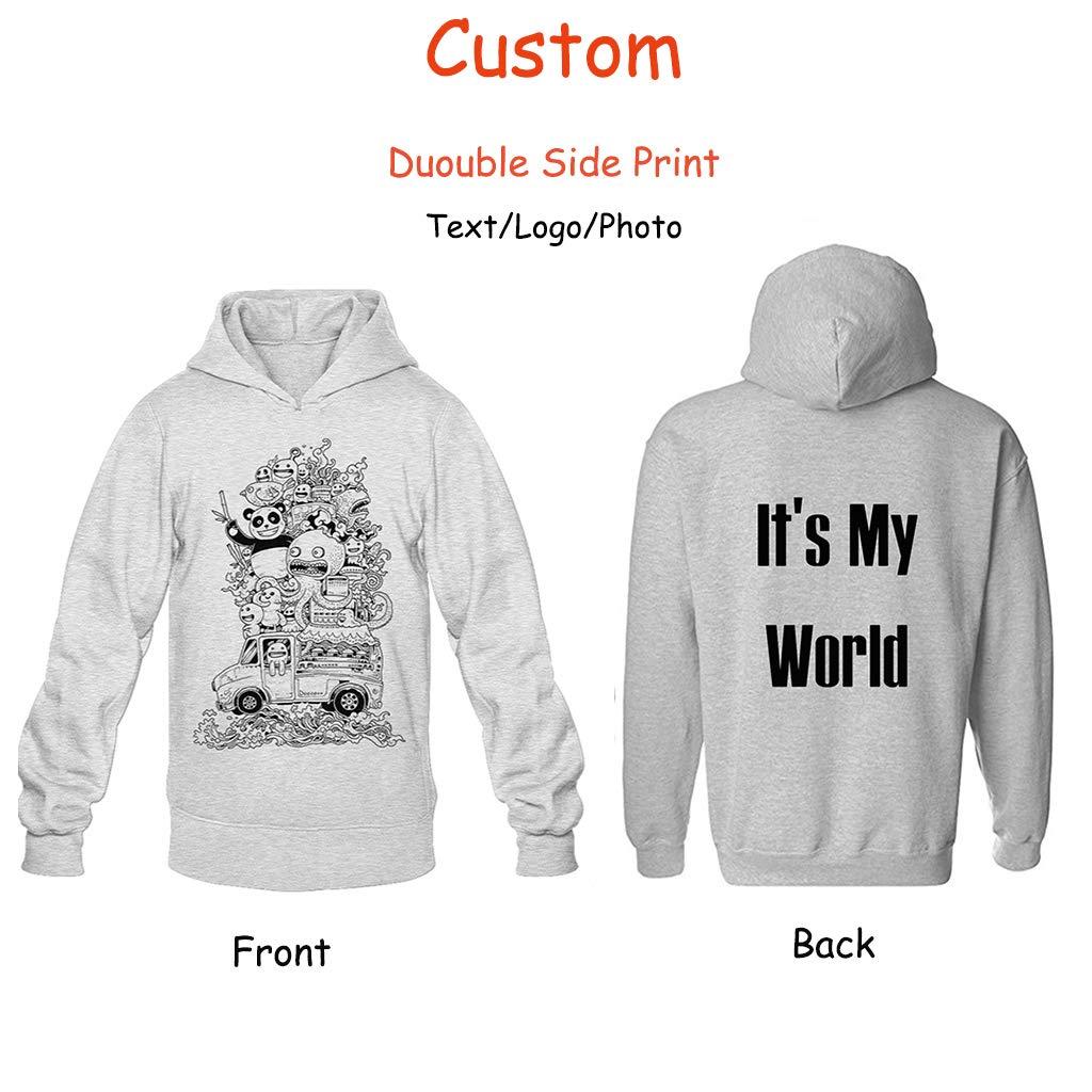 4d14b6e5ddfeb Design Your Own Hoodie Two Side Custom Men Jersey Hoodies Pullover Team  Sweatshirt