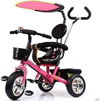 &Carrito de bebé Triciclo para niños Macho y hembra Bebé Bicicleta ...