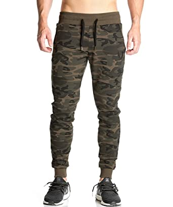 how to buy the best utterly stylish Aecibzo Men Gym Pants Camouflage Casual Jogger Skinny Slim Fit Trousers