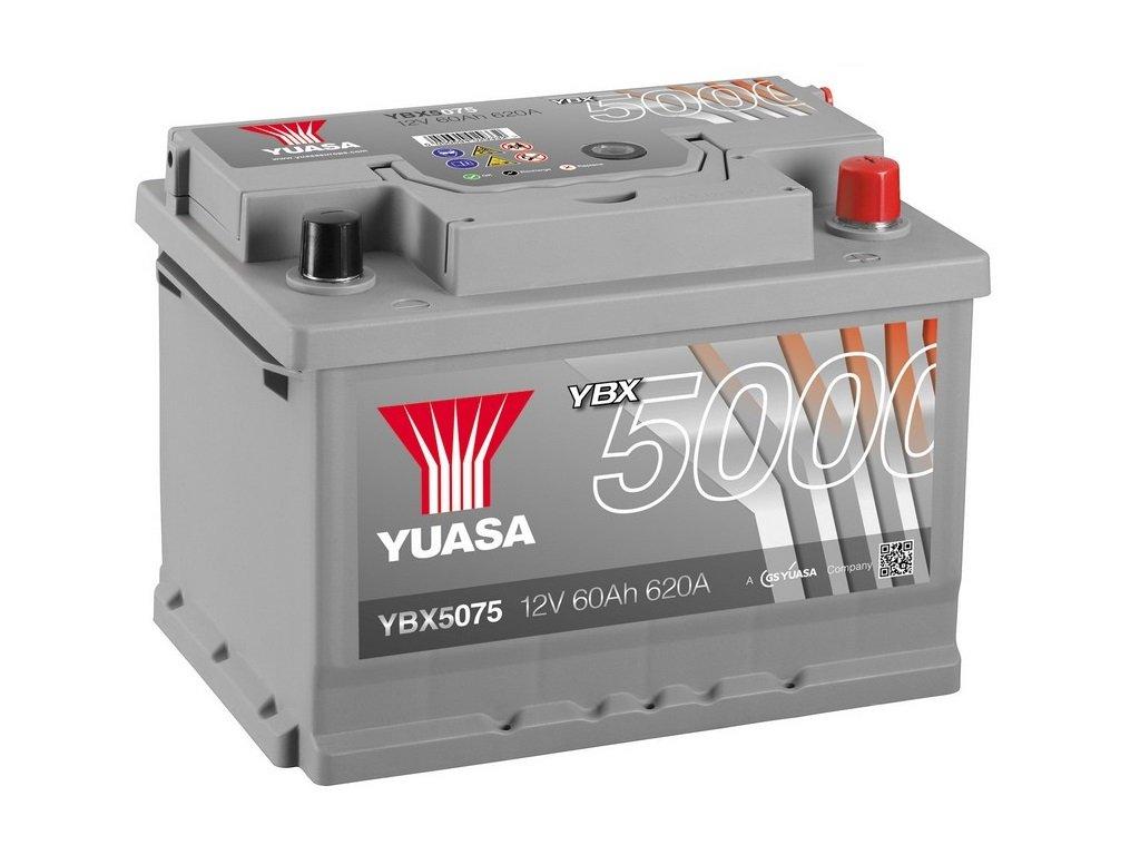 Yuasa YBX5075 Batteria Avviamento, Silver Yuasa Europe