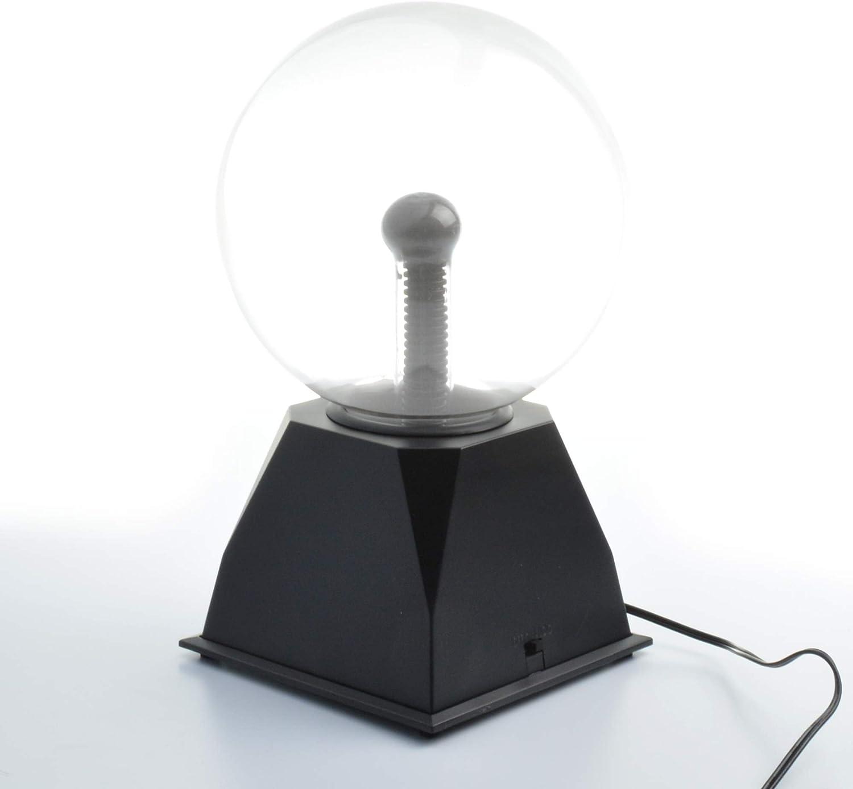 6 inch Touch /& Sound Sensitive Plasma Lamp Light Nebula Sphere Globe Novelty Toy for Decorations//Kids//Bedroom Tradeopia Corp Magic Plasma Ball