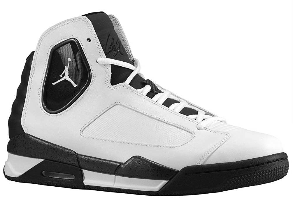 newest collection 13640 9551f Amazon.com   Nike Jordan Men s Flight Luminary Basketball Shoes -  White Black Cement Gray - 12   Basketball