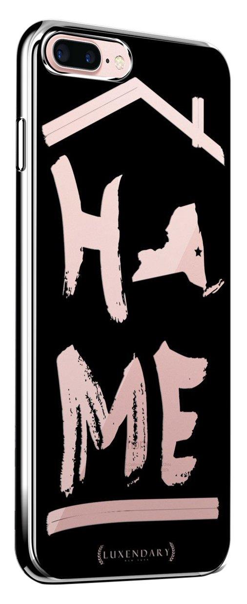 Luxendary LUX-I6CRM-HOMENY2ニューヨークホームデザインクロムシリーズケースiPhone 6 / 6S - ブラック/クリア   B01N2X2HFO