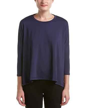 PUMA Women's Evo Long Sleeve Top Peacoat T-Shirt XS