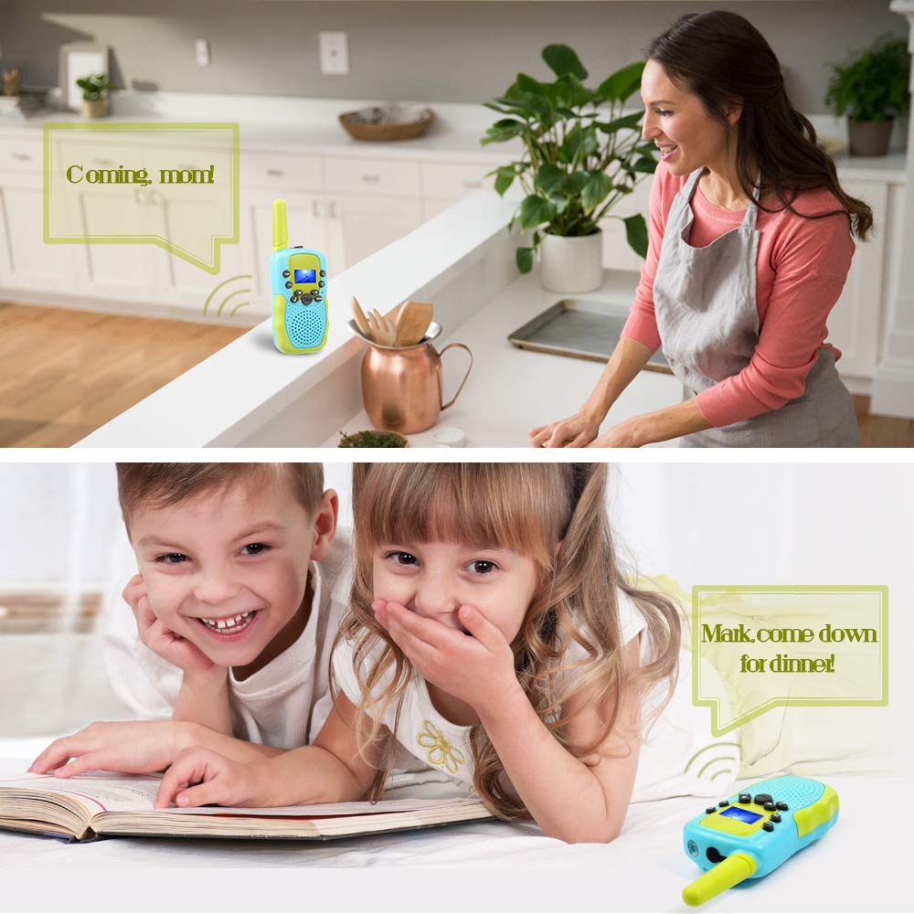 OMWay Toys for 4-5 Year Old Boys, Walkie Talkies for Boys Age 5-10,Outdoor Toys for Kids Toddlers,Kids Camping Gear,3-12 Year Old Boy Gifts,2 Way Radio,2 Miles,Birthday Gifts Ideas. by OMWay (Image #6)