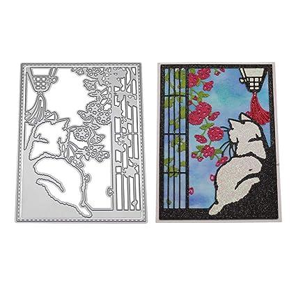 tarjetas de papel /álbumes de recortes 1 plantilla de troquelado para manualidades
