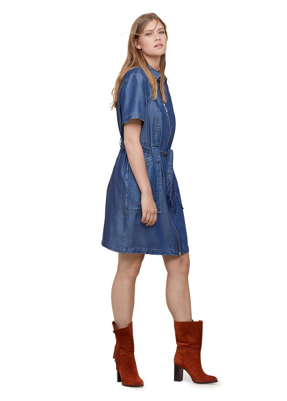 VIOLETA (Plus Size) - Jeanskleid aus Kleider Kurz lyocell