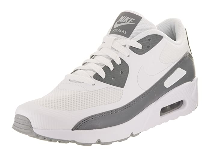 Nike Mens Air Max 90 Ultra 2.0 Se Low Top Lace, WhiteWhite Cool Grey, Size 11.5