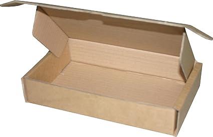 10 pieza Maxibrief Cartón Cajas Envío 210 x 130 x 42 mm 1.30 ...