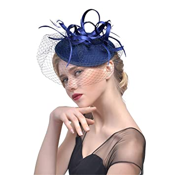Lace Veils Tulle Headwear Flower Hats Gothic Lolita Fancy Hat Women Felt  Fedora Hat Ladies Feathers 71021b34ff7