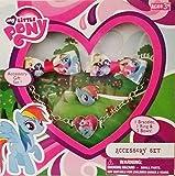 My Little Pony Accessory Set - 1 Bracelet, 1 Ring & 2 Bows