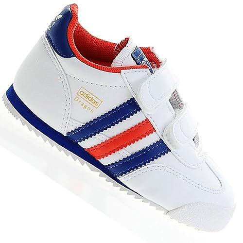 Adidas Dragon CF Zapatillas para Nino Blanco, 23: Amazon.es: Zapatos y complementos