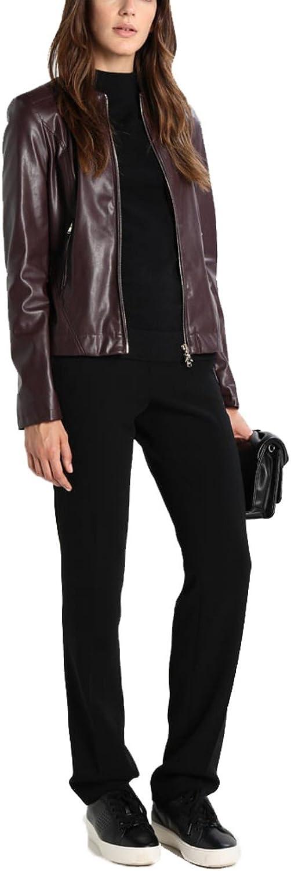 Koza Leathers Womens Lambskin Leather Biker Jacket KN219